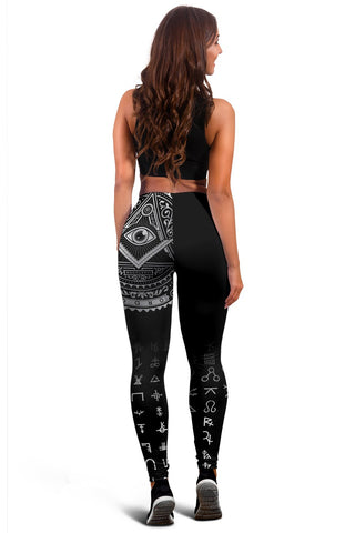 Freemasonry Tattoo Leggings A31