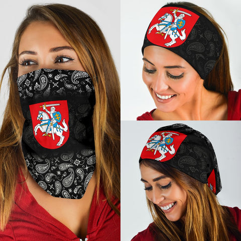 Lithuania Bandana 3-Pack - Neck Gaiter A7