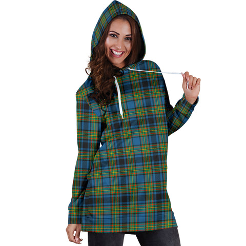 Gillies Ancient Tartan Hoodie Dress HJ4 |Women's Clothing| 1sttheworld