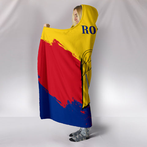 Image of Romania Special Hooded Blanket A5 | Love The World