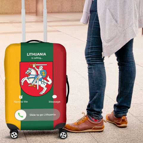 Lithuania Is Calling Luggage Cover TH5