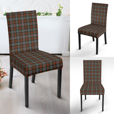 Murray of Atholl Weathered Tartan Dining Chair Slip Cover HJ4