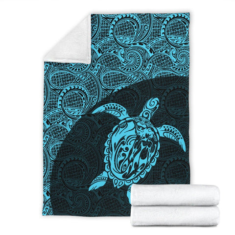 Hawaii Turtle Mermaid Premium Blanket 04 TH90
