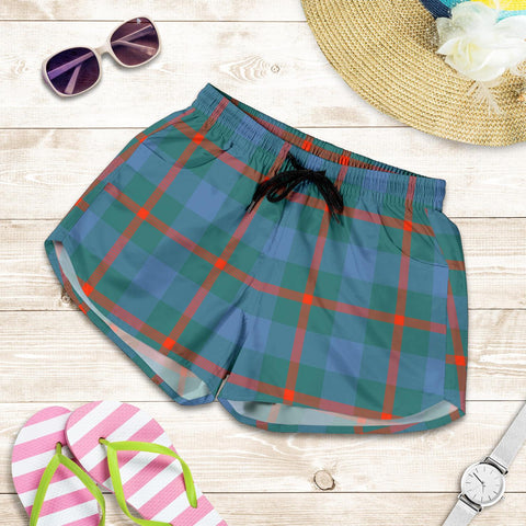 Image of Agnew Ancient Tartan Shorts For Women TH8