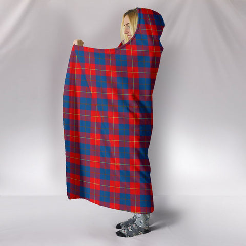 Galloway Red, hooded blanket, tartan hooded blanket, Scots Tartan, Merry Christmas, cyber Monday, xmas, snow hooded blanket, Scotland tartan, woven blanket