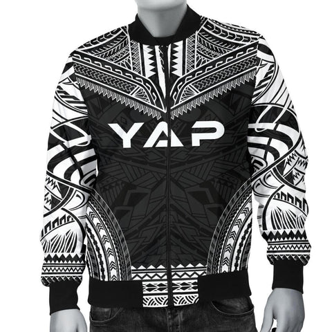 Yap Polynesian Chief Men's Bomber Jacket - Black Version - Bn10
