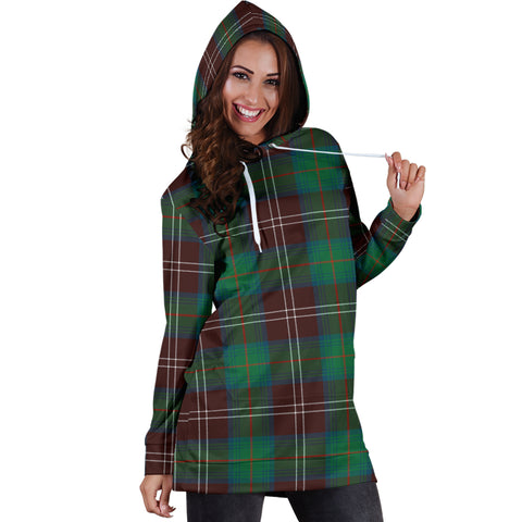Chisholm Hunting Ancient Tartan Hoodie Dress HJ4 |Women's Clothing| 1sttheworld