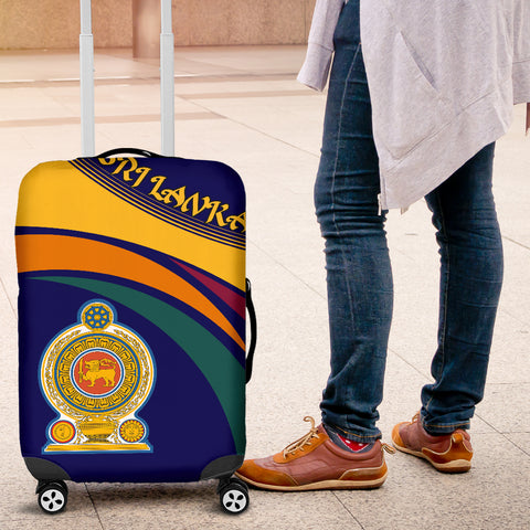 1sttheworld Sri Lanka Lion Coat Of Arms Luggage Covers - J5