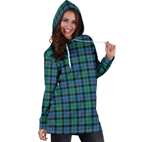 Image of Campbell Of Cawdor Ancient Tartan Hoodie Dress HJ4