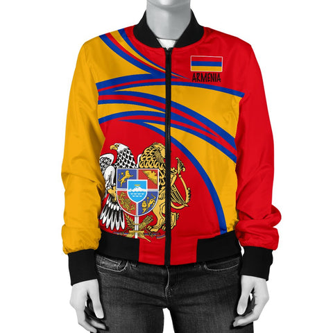 Image of Armenia Women's Bomber Jacket A15