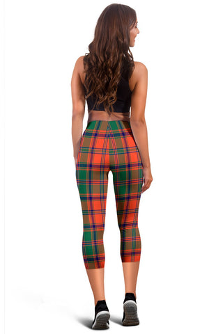 Stewart Of Appin Ancient Tartan Capris Leggings