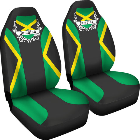 Image of Jamaica Car Seat Cover - Jamaican Flag - Car Seat Covers - Jamaican Color