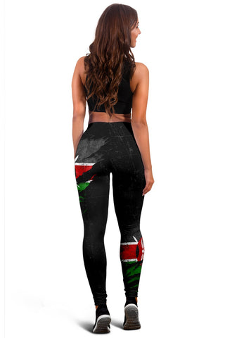 Image of Kenya In Me Women's Leggings - Special Grunge Style A31