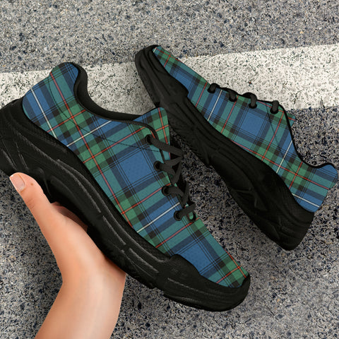 Image of Robertson Hunting Ancient Tartan Chunky Sneaker - BN