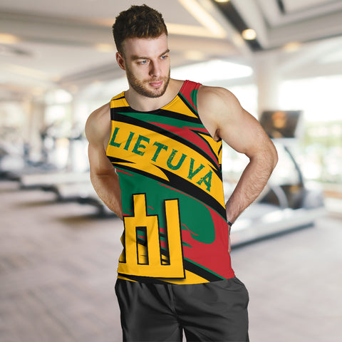 Lithuania Knight Forces Tank Top - Lode Style - JR