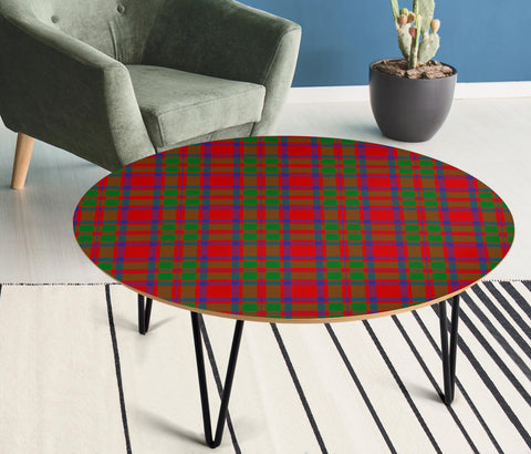 MacKintosh Modern Tartan Circular Coffee Table - BN