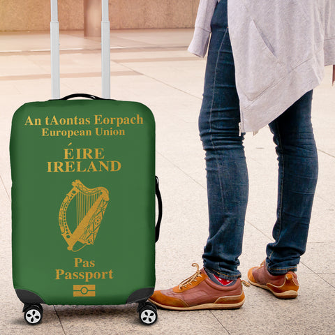 IRELAND PASSPORT LUGGAGE COVER - BN03