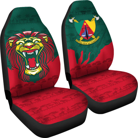 Image of Cameroon Car Seat Covers Lion
