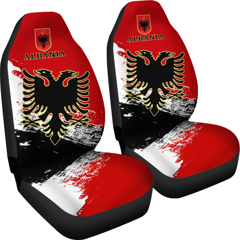 Albania Special Car Seat Covers (Set of Two) A7
