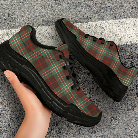 Image of SCOTT BROWN ANCIENT Tartan Chunky Sneaker - BN