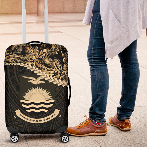 Kiribati Luggage Covers Golden Coconut A02