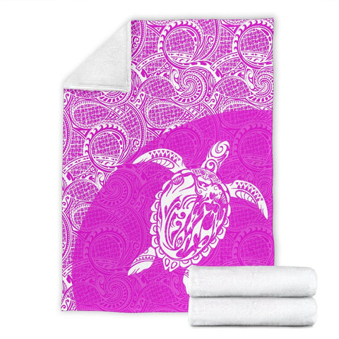 Hawaii Turtle Mermaid Premium Blanket 08 TH90