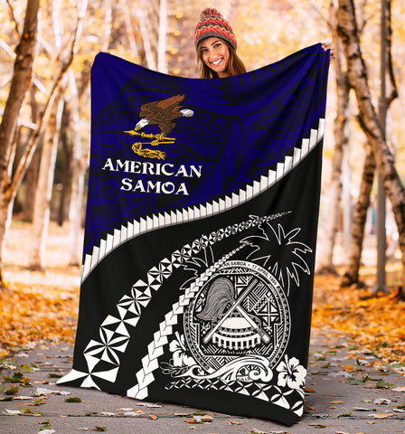 American Samoa Premium Blanket - Road to Hometown K4