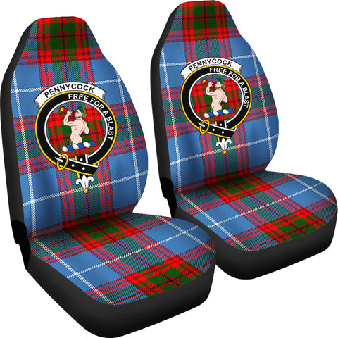 Image of Penny Cook Tartan Car Seat Covers - Clan Badge K5