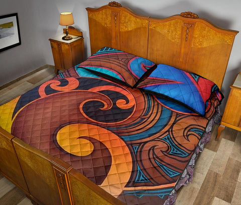 Image of Maori Quilt Bed Set 26 Bn10