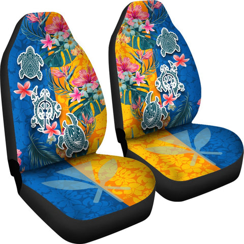 Hawaii Car Seat Covers Polynesian Turtle Special K13