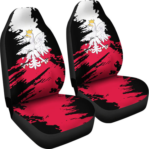 Image of Poland Painting Car Seat Cover TH3