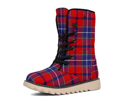 Wishart Dress Tartan Polar Boots Hj4