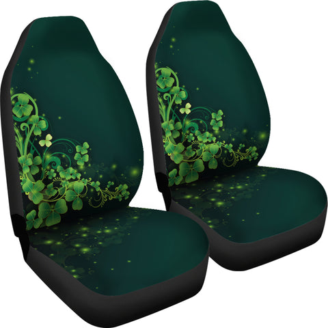 Image of Ireland Car Seat Covers Highlight Shamrock | Love The World