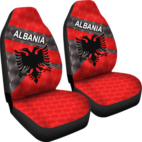 Albania Car Seat Covers Sporty Style K8