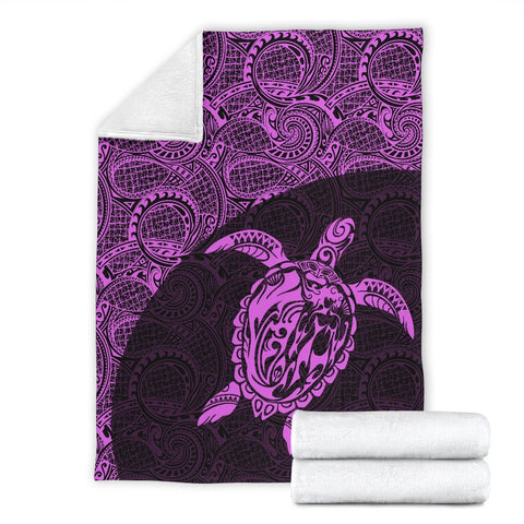 Hawaii Turtle Mermaid Premium Blanket 06 TH90