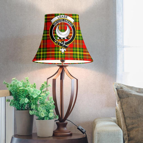 Leask Tartan Clan Crest Bell Lamp Shade HJ4