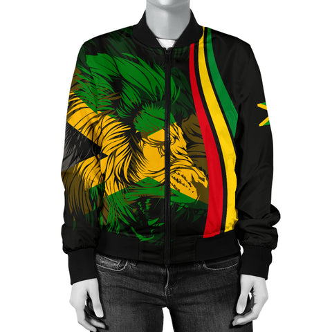 Image of Jamaican Bomber Jacket