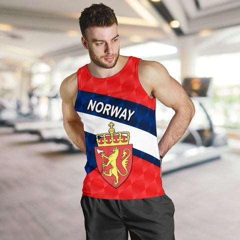 Image of Norway Men Tank Top Sporty Style K8