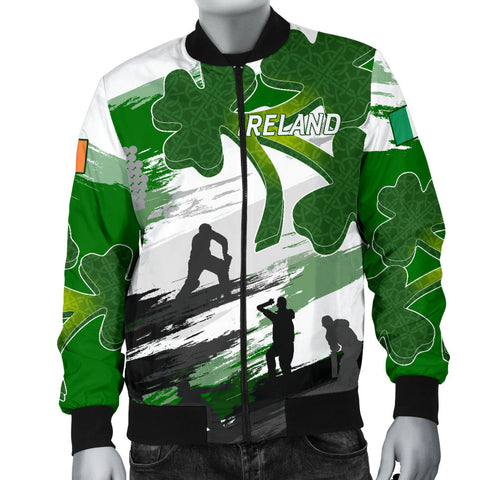 Image of Ireland Cricket Special Men's Bomber Jacket A7