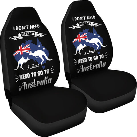 I Just Need To Go To Australia Car Seat Covers NN2