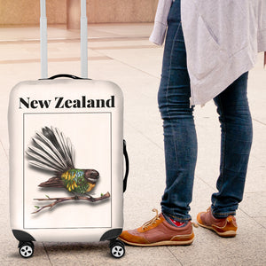 New Zealand Fantail Luggage Cover K4