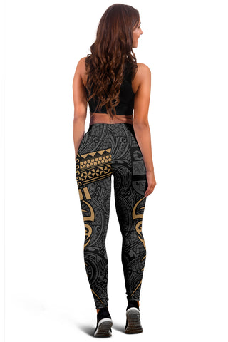Fiji Clothing - Special Fiji Women's Leggings Gold J5