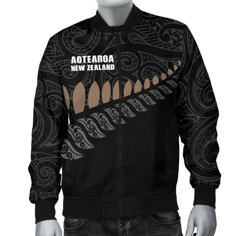 New Zealand Men's Bomber Jacket Ka Mate Haka Lyrics A7