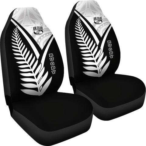 New Zealand Rugby Car Seat Covers - New Zealand Fern & Maori Patterns