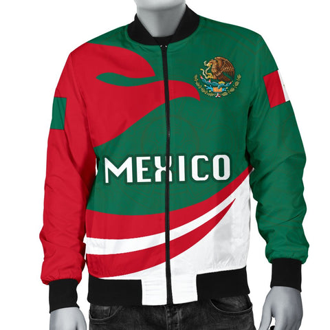 Mexico Men Bomber Jacket Proud Version K4