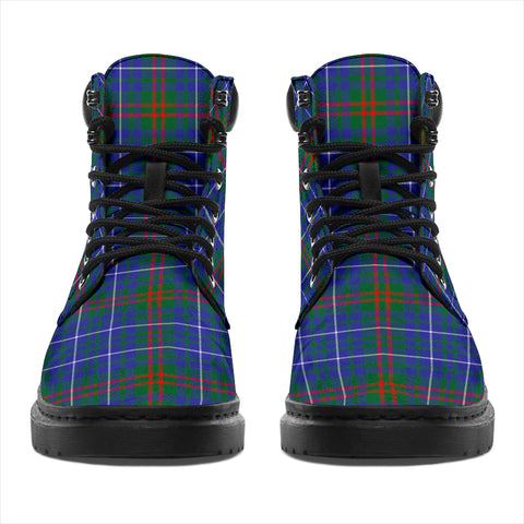 Image of Edmonstone Tartan Clan Crest All-Season Boots HJ4