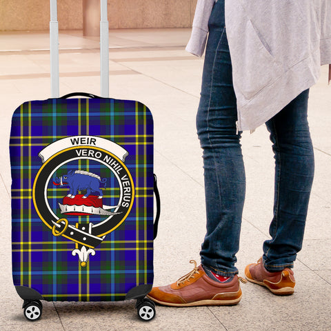 Weir Tartan Clan Badge Luggage Cover Hj4 | Love The World
