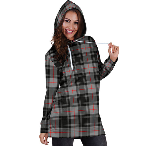 Moffat Modern Tartan Hoodie Dress HJ4 |Women's Clothing| 1sttheworld
