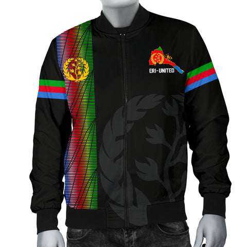 Image of Eritrea Men's Bomber Jacket - Eritrea United A7
