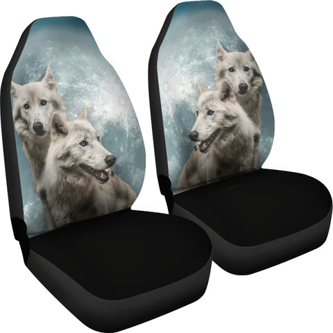 Image of Wolves Car Seat Cover K5